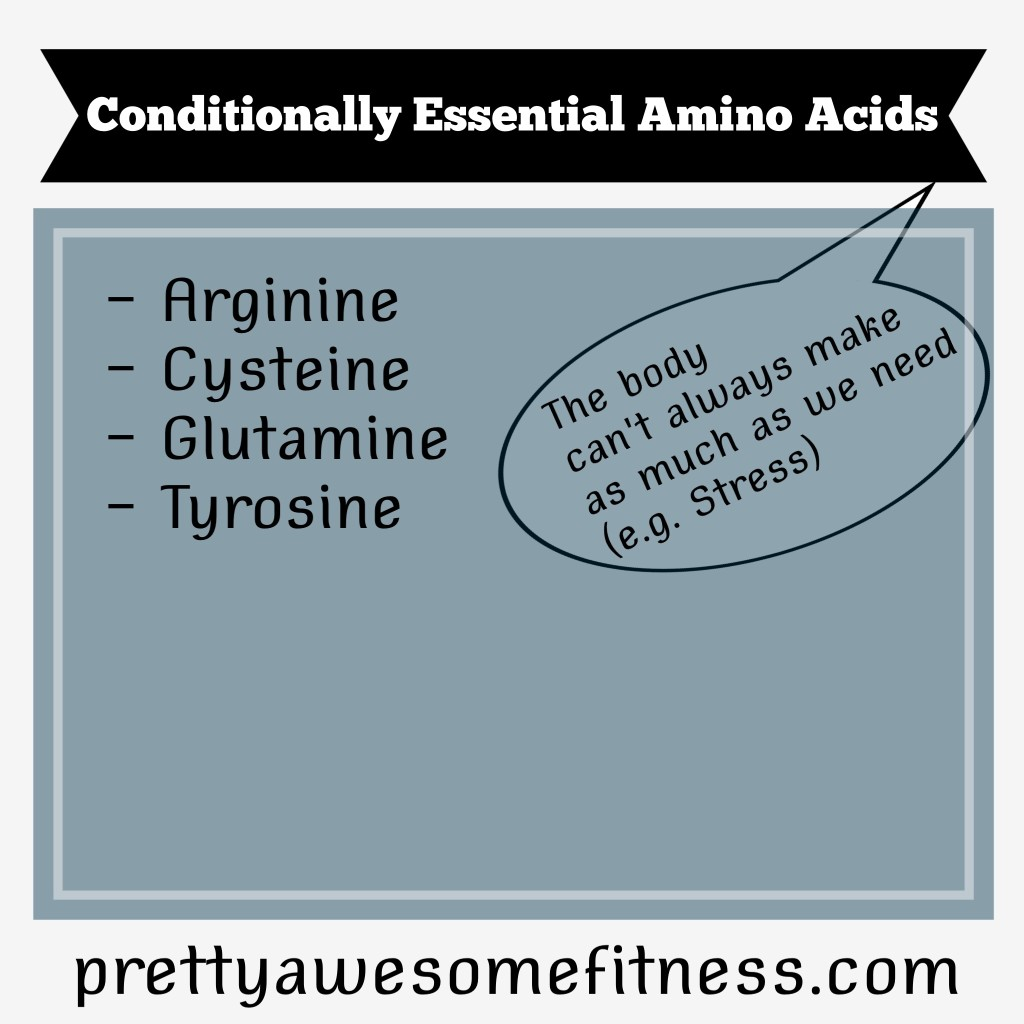 Conditionally Essential Amino Acids
