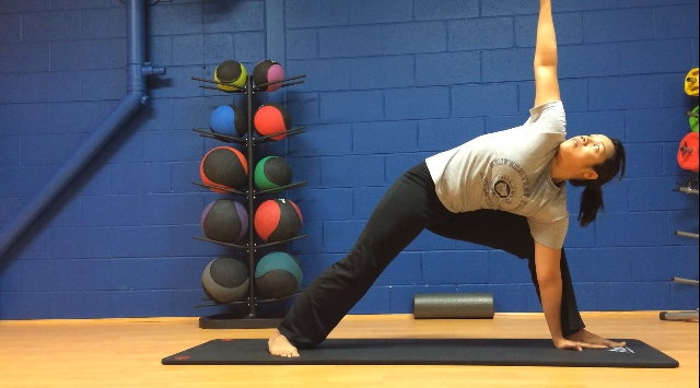 Right Angle Pose - Front