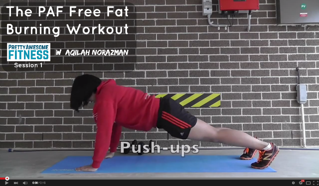 free fat burning workout 1