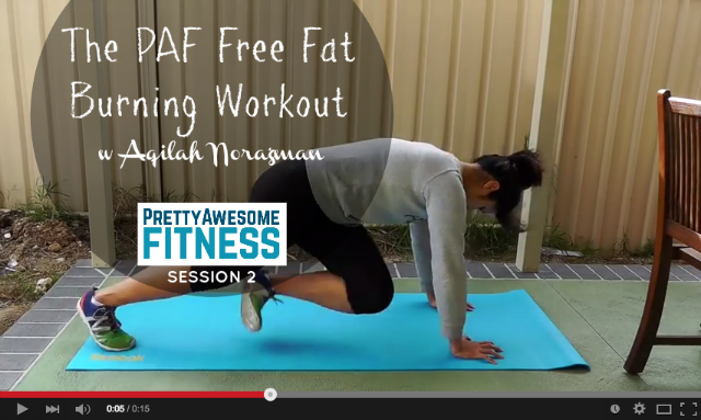 The PAF Free Fat Burning Workout 2: In Just 15 Minutes!